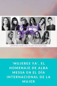 'Mujeres Ya', el homenaje de Alba Messa en el Día Internacional de la Mujer