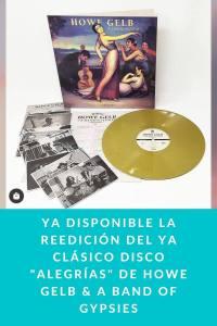 """Ya disponible la reedición del ya clásico disco """"Alegrías"""" de Howe Gelb & A Band Of Gypsies"""