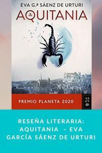 Reseña literaria: Aquitania  – Eva García Sáenz de Urturi