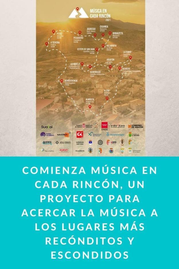 Comienza Música en cada rincón, un proyecto para acercar la música a los lugares más recónditos y escondidos