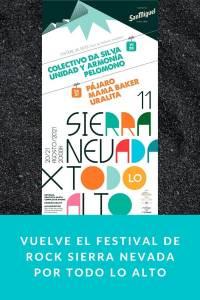 Vuelve el festival de rock Sierra Nevada por todo lo Alto
