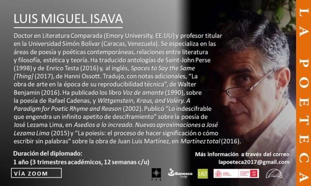 Luis Miguel Isava
