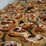 Kanelbullens Dag (Cinnamon Bun Day) on 4 October