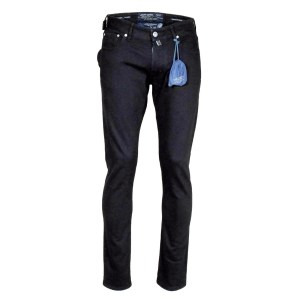 Jacob Cohen Herren Jeans Schwarz Baumwollmix Luxus