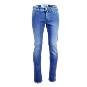 Jacob Cohen Herren Jeans Blau Baumwollmix Luxus Modell J688C