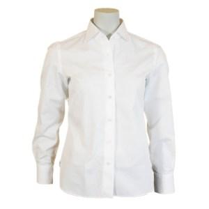 Fedeli Damen Bluse Baumwolle Weiß Luxus
