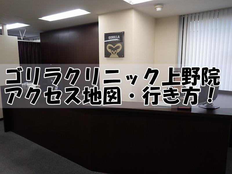 上野 ゴリラ クリニック