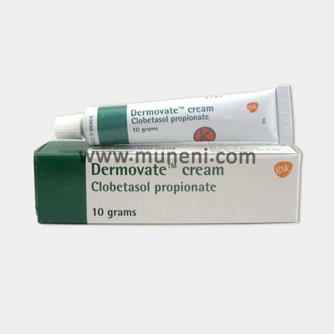Dermovate Cream Clobetasol Propionate by Muneni Store