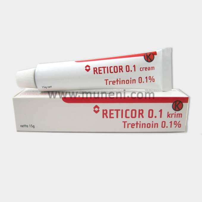 Reticor 0.1 Cream Tretinoin 0.1%