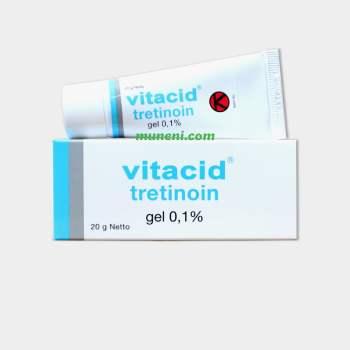 Vitacid Tretinoin 0.1% Gel
