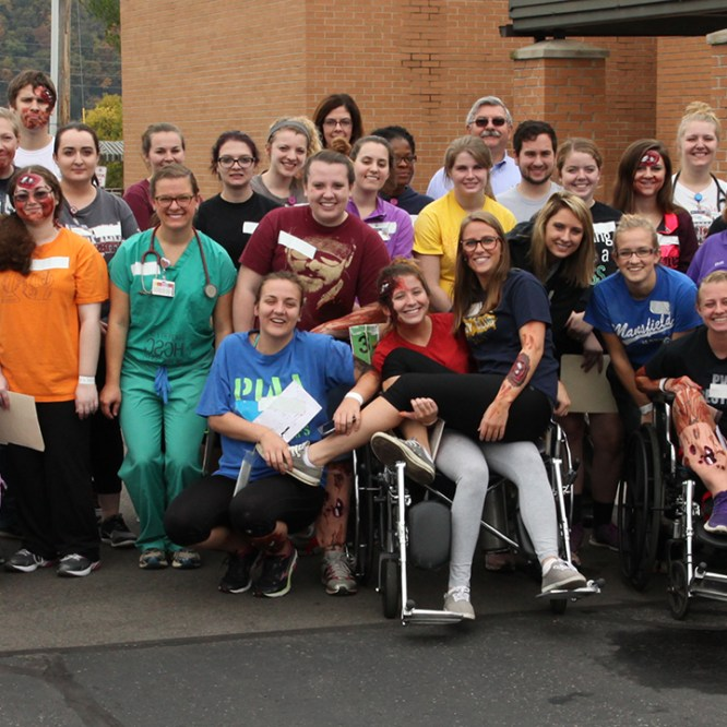 Nursing Students Participate in Disaster Simulation