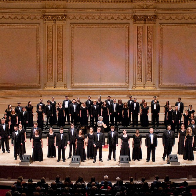 Concert Choir to Perform at Carnegie Hall; Alumni Association Offers Bus Trip for Concert