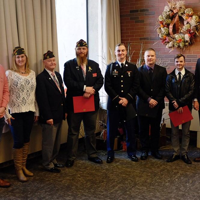 Veterans Support Group Awards Scholarships