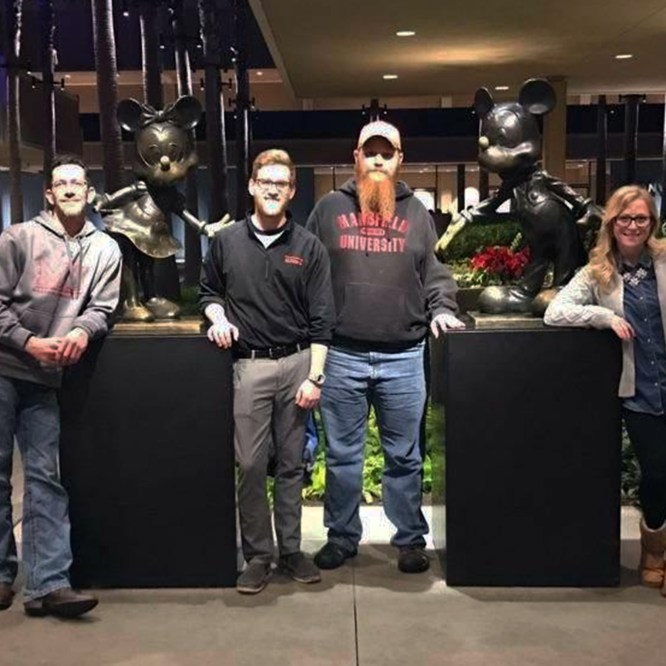 Student Veteran Leadership Attends National Conference