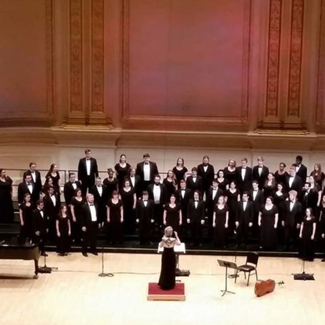 Concert Choir to Perform in Tarentum, PA