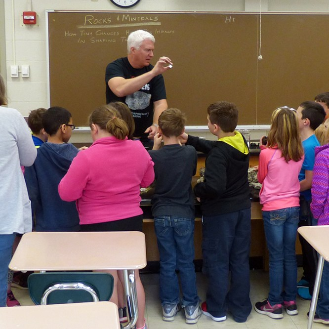 MU Hosts Third Grade Students for Science Day