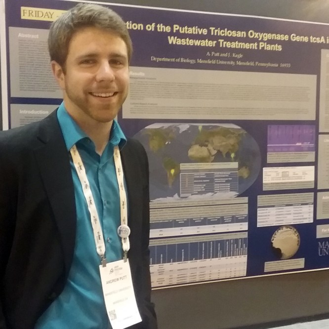 Andrew Putt '16 Presents Research at National Conference