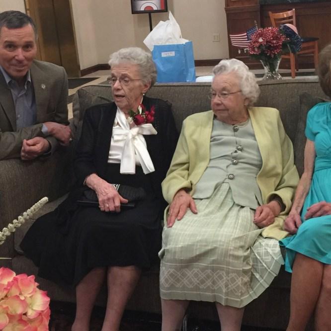 MU Honors Class of '47 from Robert Packer Hospital School of Nursing