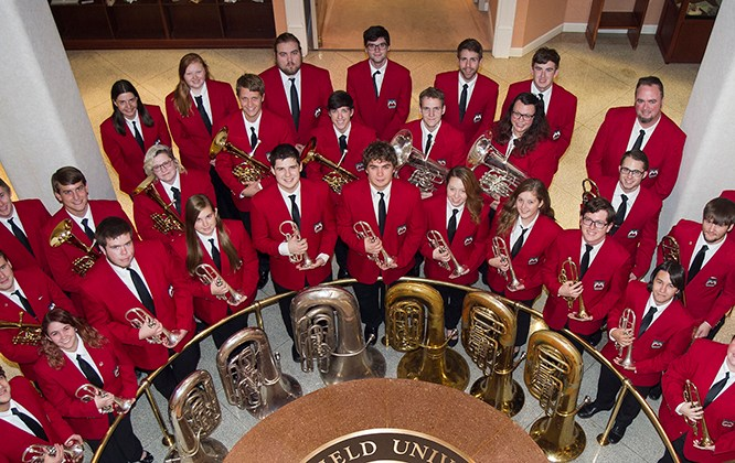 Mountaineer Brass Band to Perform Veterans Day Concert at Bath VA Hospital