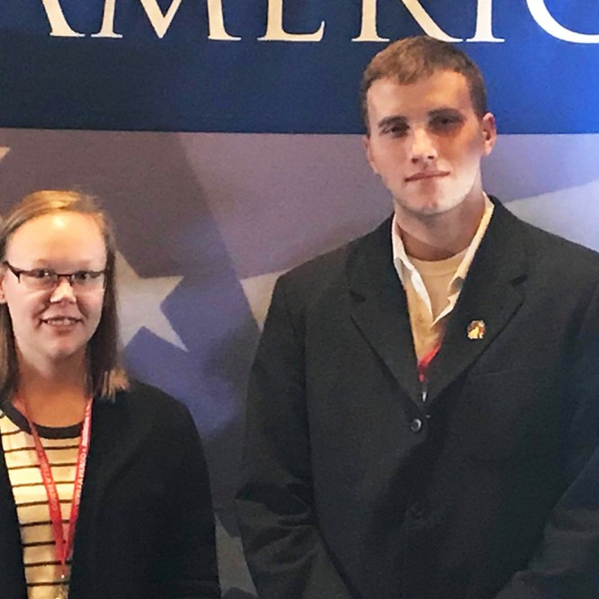 Student Veteran Organization Members Attends National Conference
