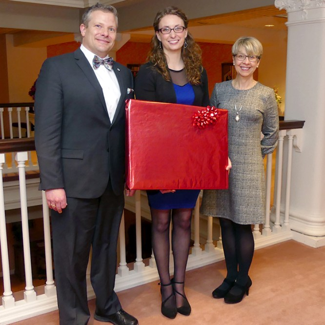 Mansfield Council of Trustees Honor Graduating Student Trustee