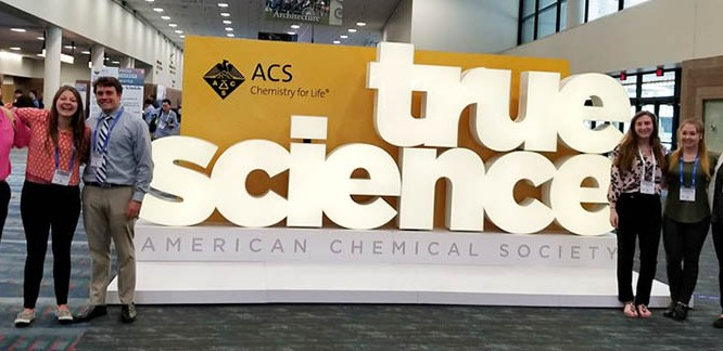 Mansfield Students Attend American Chemical Society Meeting