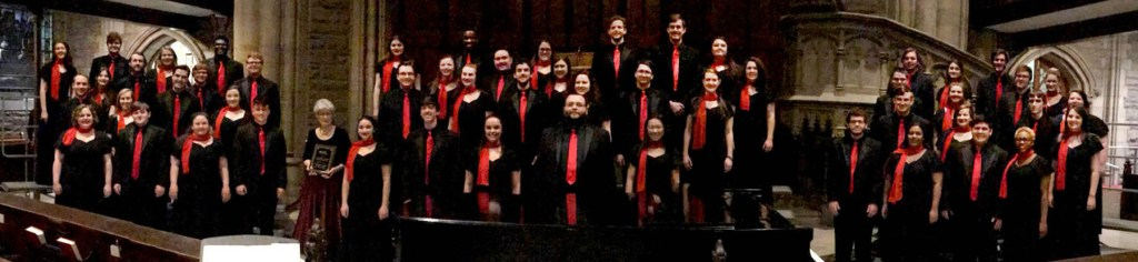 MU Concert Choir at ACDA Conference in Pittsburgh.