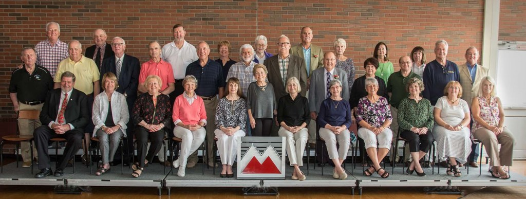 Members of the Class of 1968 who returned for Alumni Weekend.