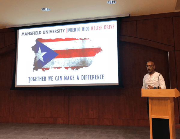 MU Employee Honored with Humanitarian Award for Puerto Rico Relief Drive