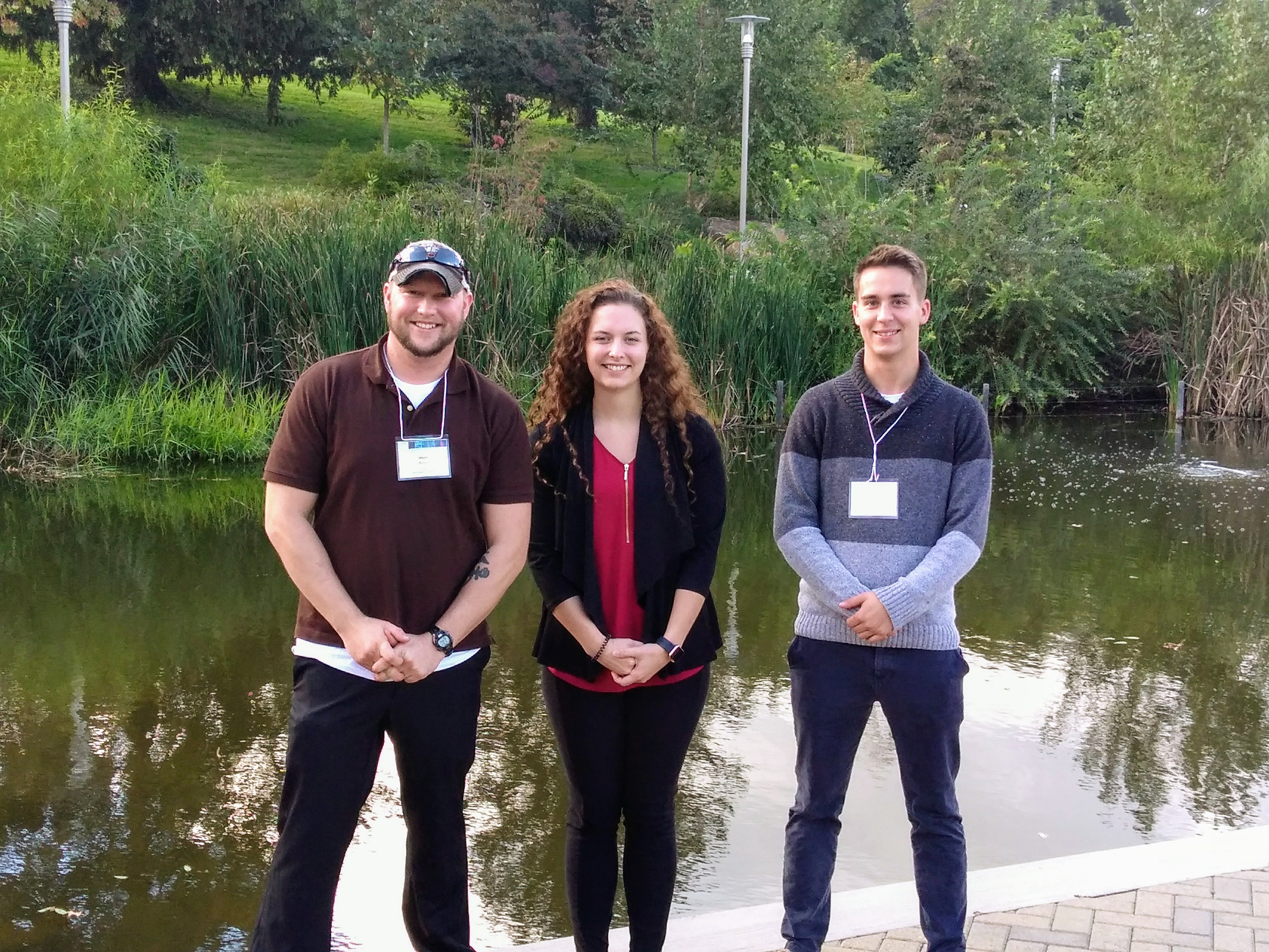 Mansfield Biology Students Present at Regional Research Conference
