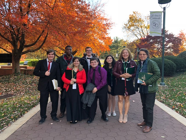 Mansfield Voice Students Successfully Compete at Regional Auditions