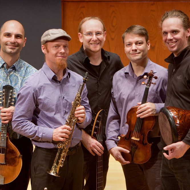 Musical ensemble Journey West to perform March 16 at Steadman Theatre