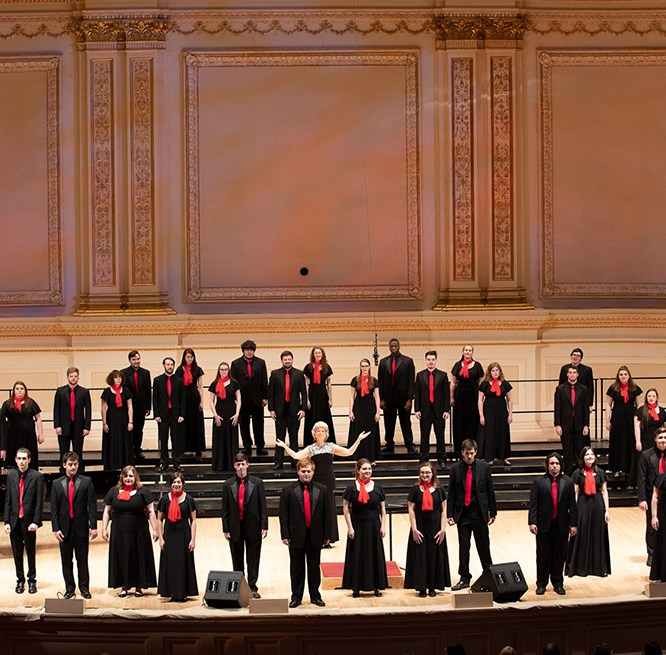 MU Concert Choir Receives National Recognition