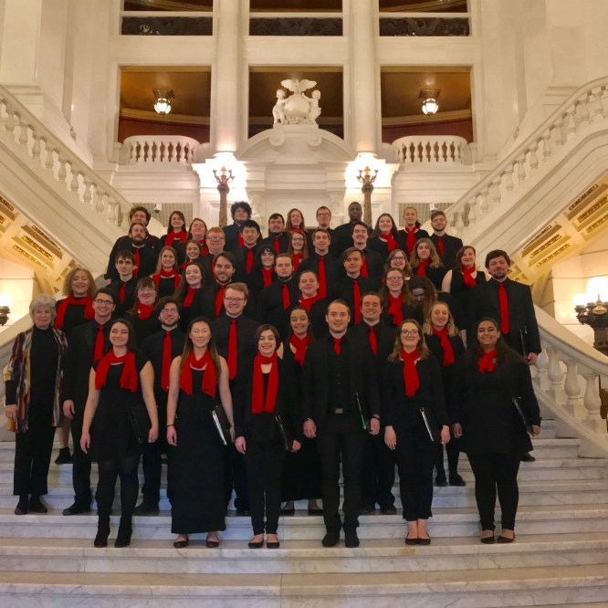 Concert Choir and Chamber Singers to Perform Final Concert of the Academic Year
