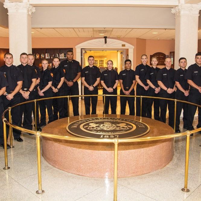 Mansfield University Police Academy Graduates 18