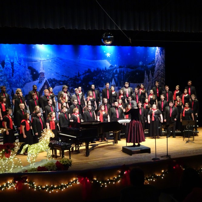 Holiday choral concerts set for December 7-8 at Steadman Theatre