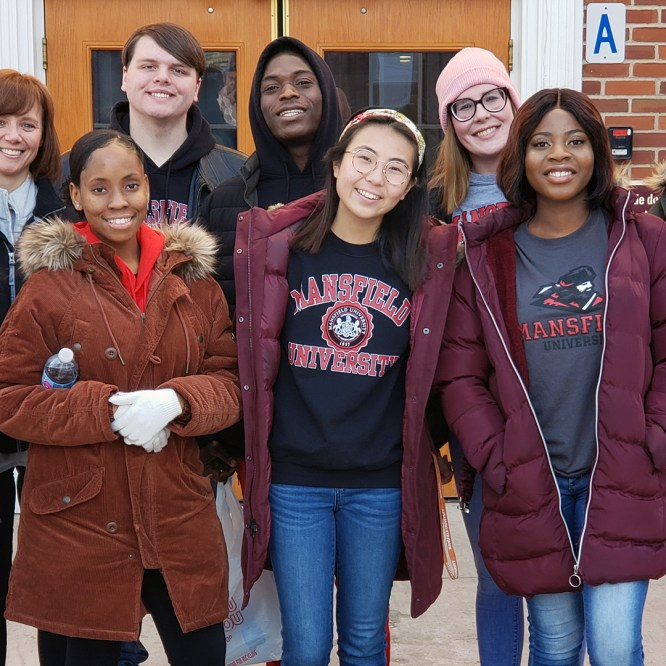 Mansfield University participates in 'A Day of Service' to honor MLK
