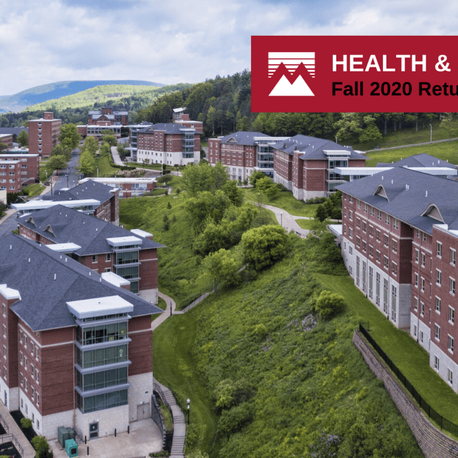 Mansfield University announces Health and Safety Plan for Fall 2020 return to campus, early start to semester