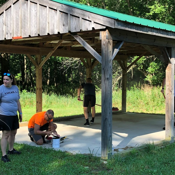 MU Police Academy cadets provide day of community service
