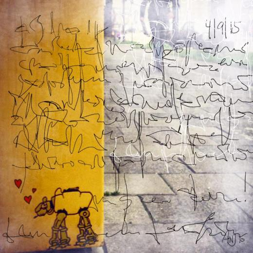 Munich Artists Angela Josupeit - Day 5 - Mailbox