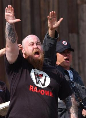 Nazi Rally, Marienplatz April 25