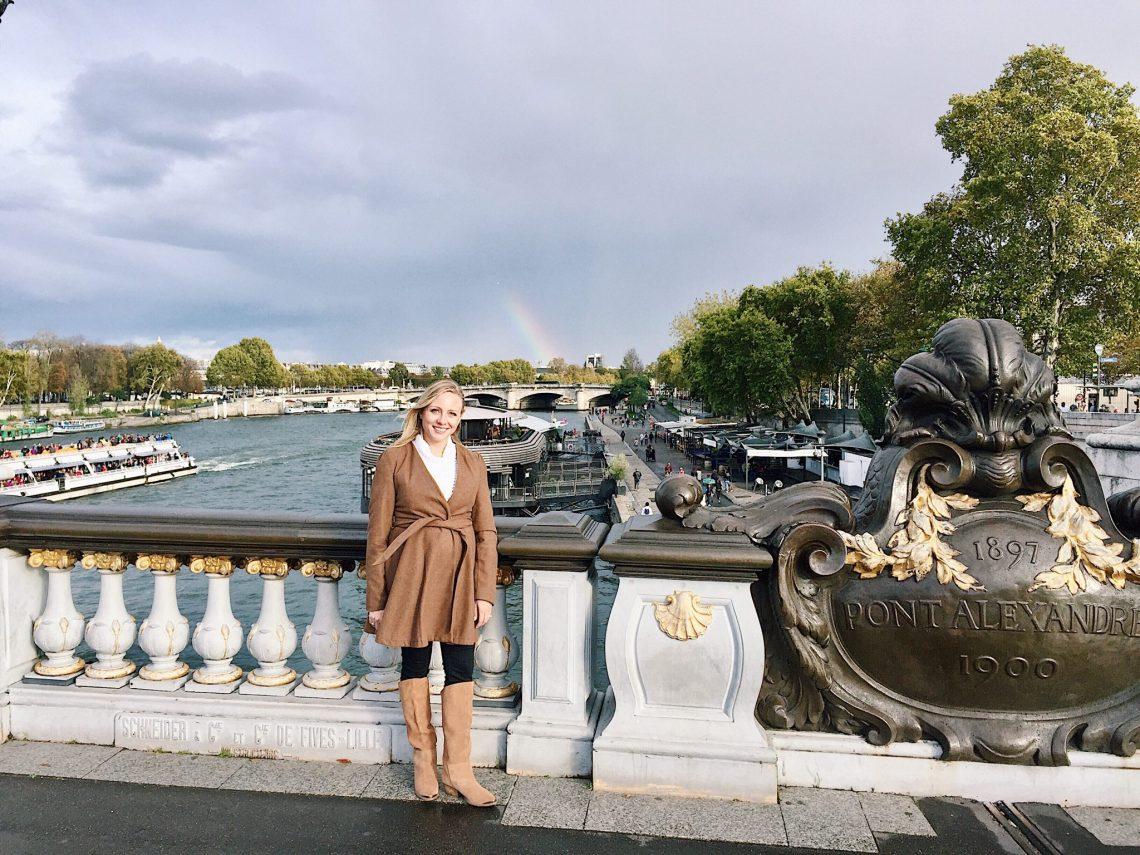 rainbow in paris