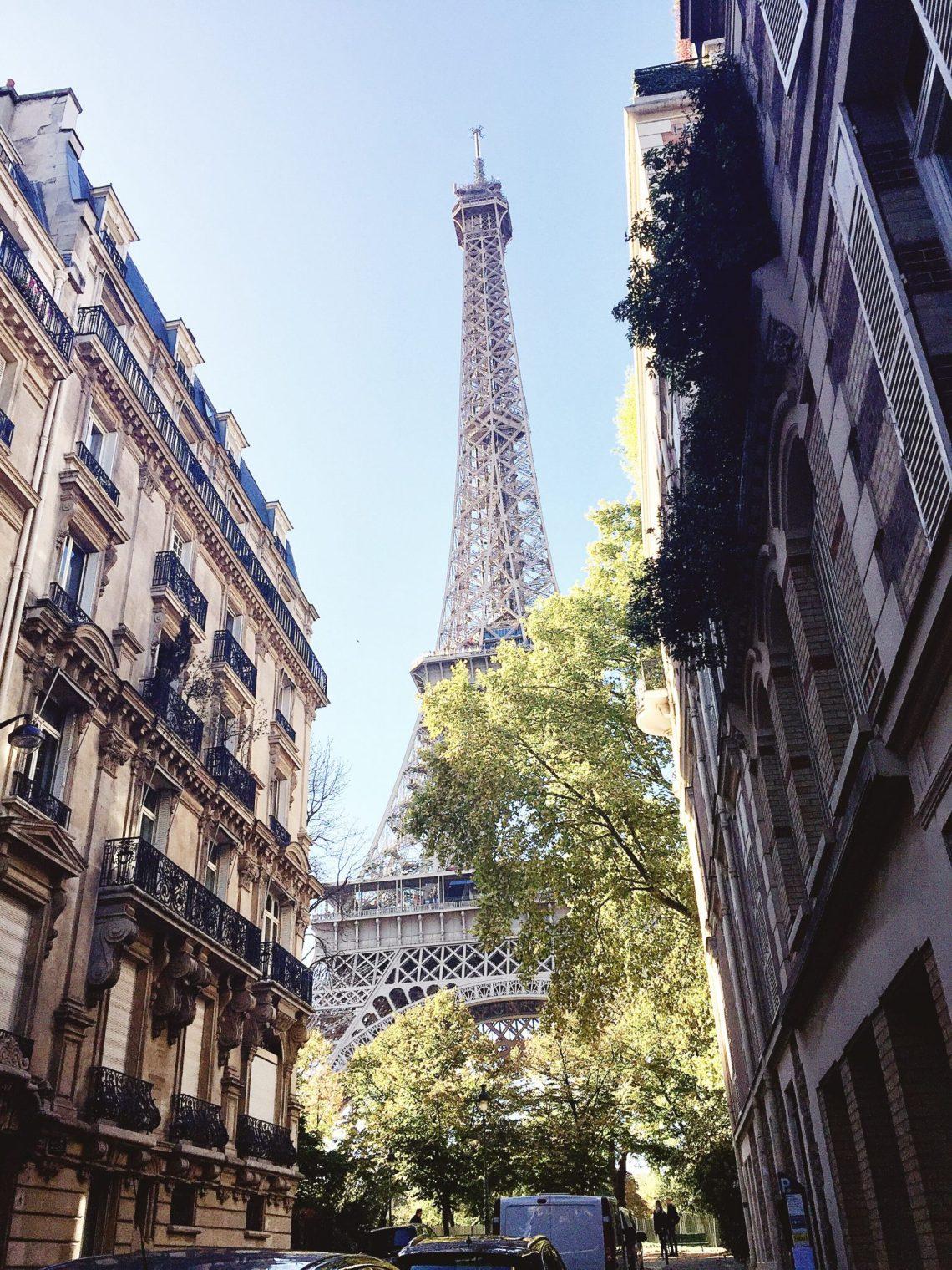 3 days in paris eiffel tower