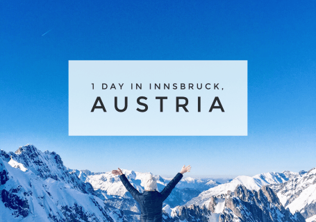 1 day in Innsbruck, Austria Full Guide