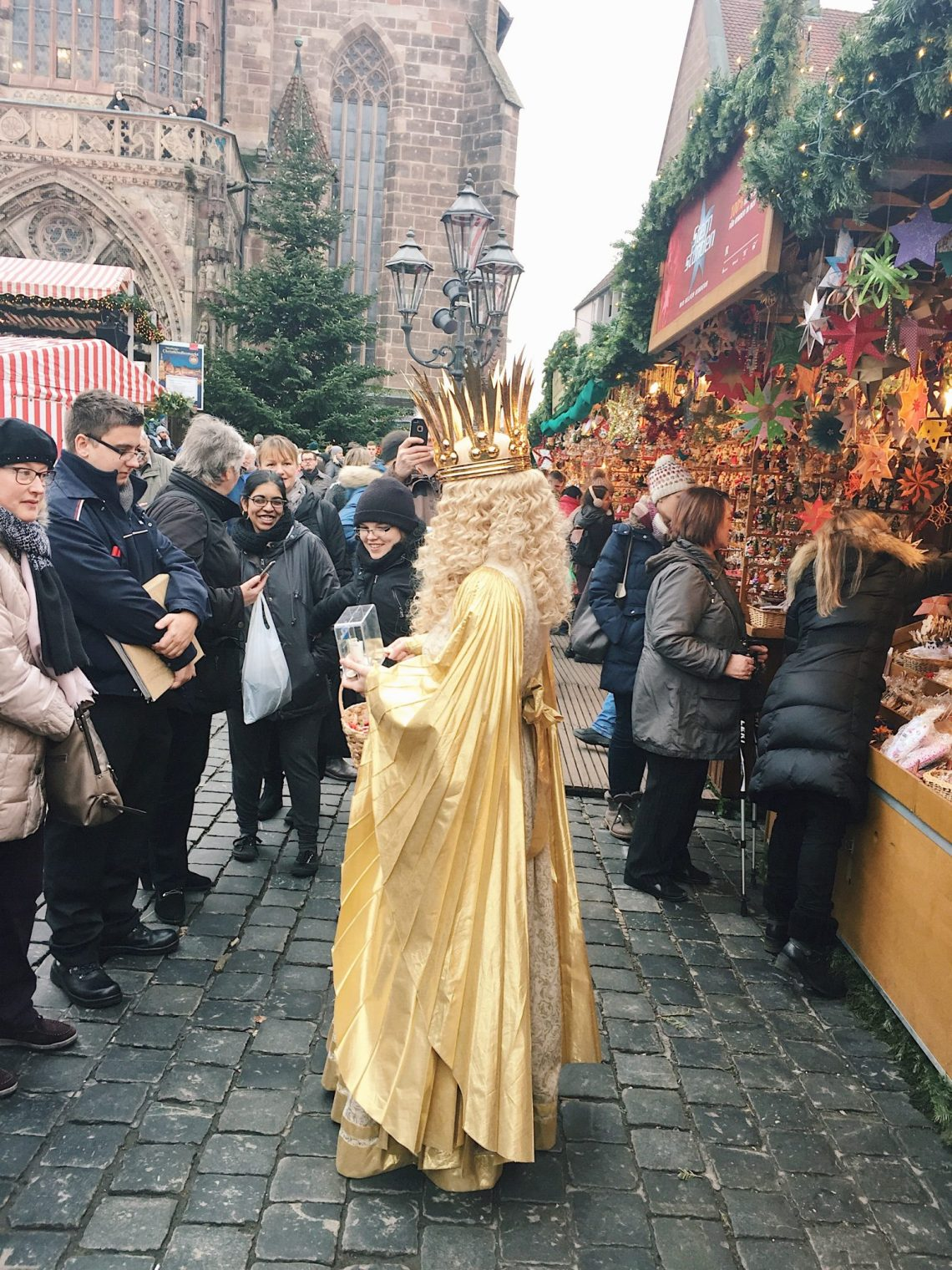 Nuremberg Christmas market Christkind