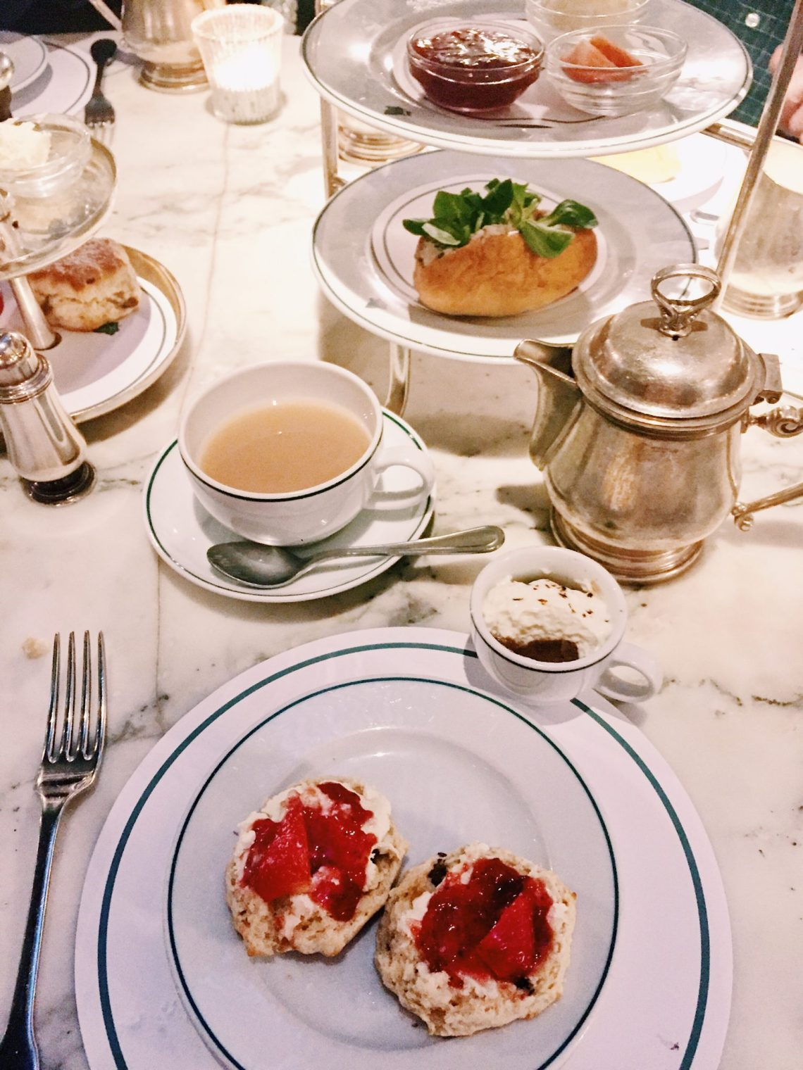 afternoon tea the ivy chelsea garden