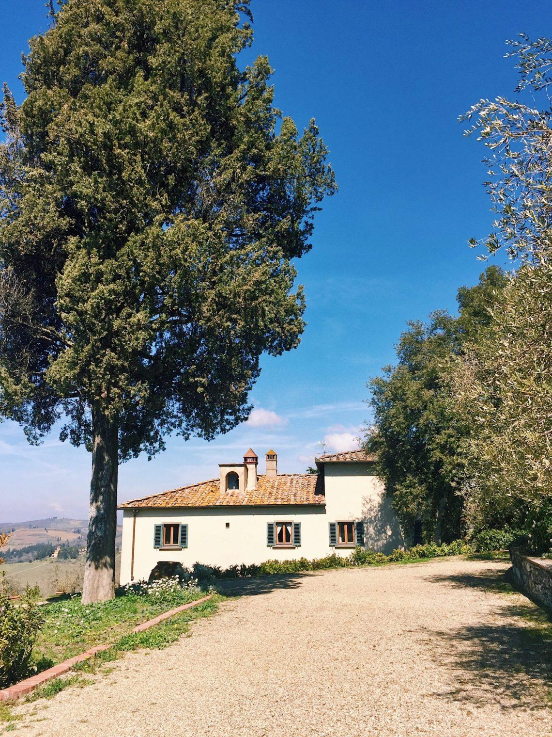 Fontodi winery in Chianti, Italy