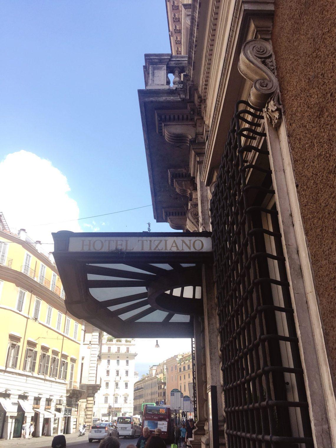 Hotel Tiziano in Rome Italy