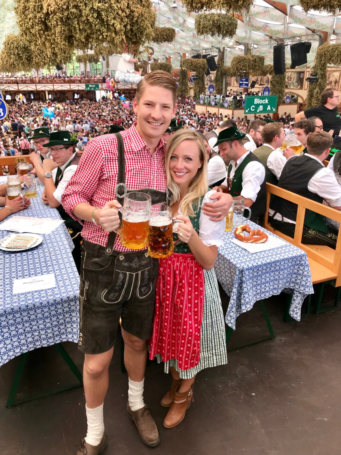 Oktoberfest in Munich, Germany.