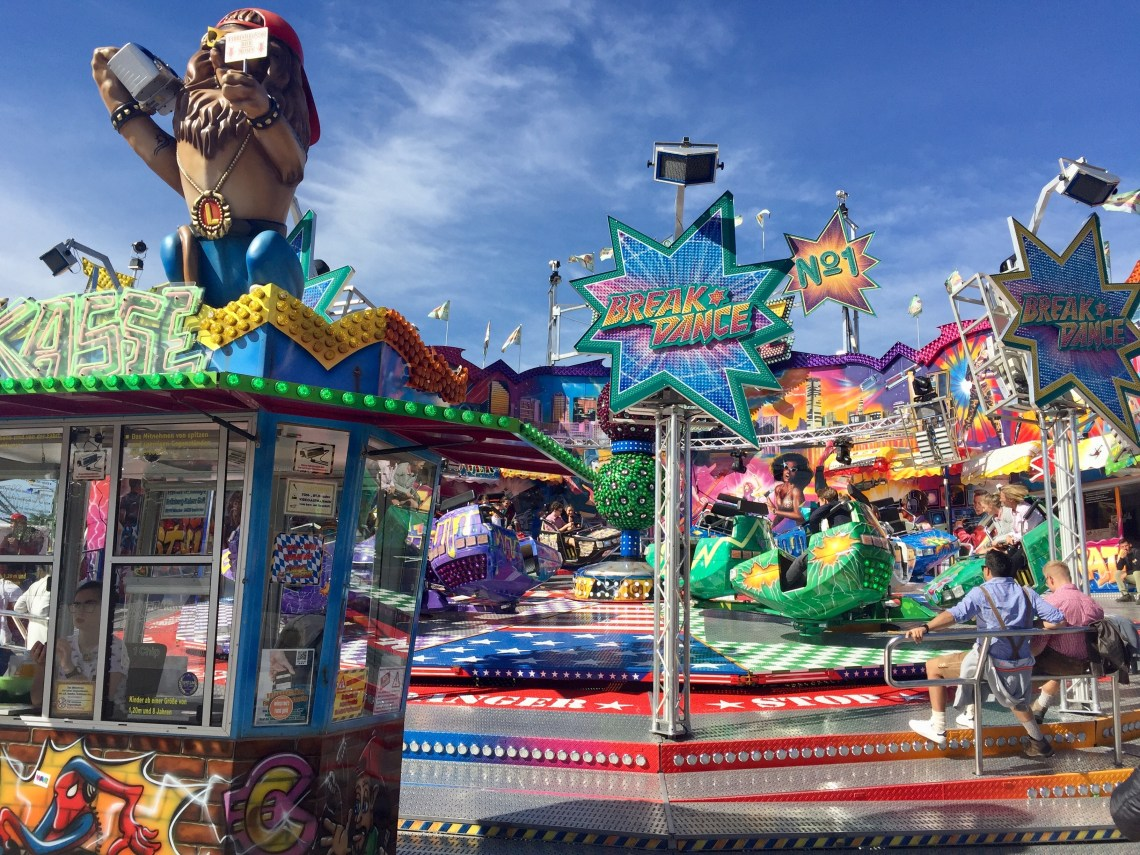 Fun Fair at Oktoberfest